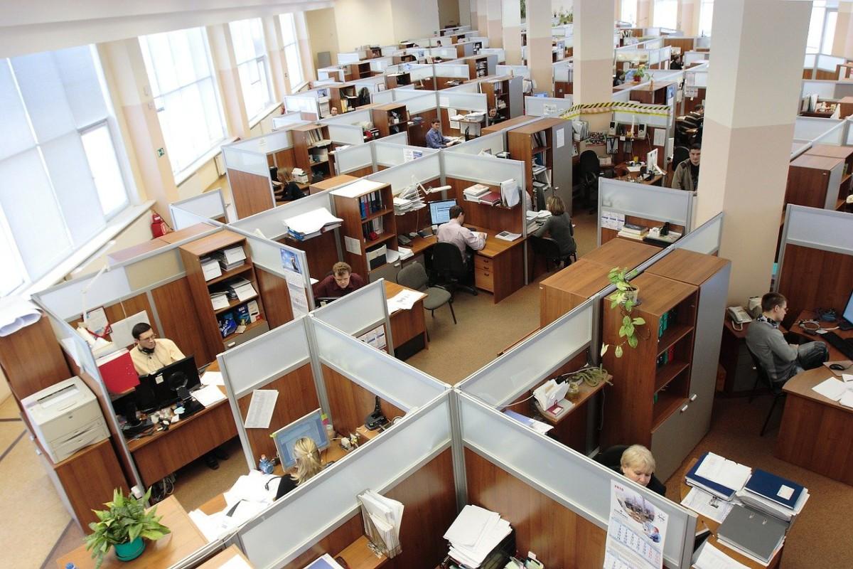 オフィス ゾーニング