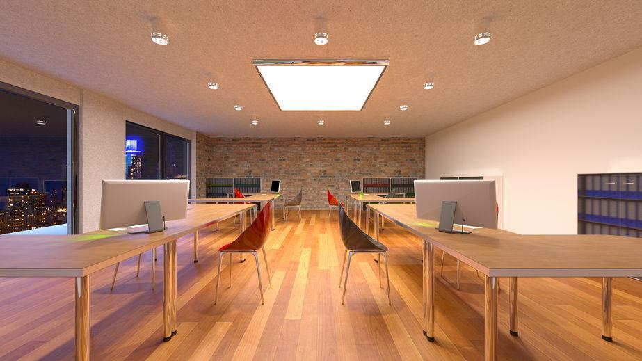 オフィス作りにも役立つ 空間照明