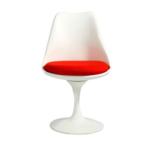 エーロ・サーリネンがデザインした個性的な家具「チューリップチェア」を主役にしたコーディネート