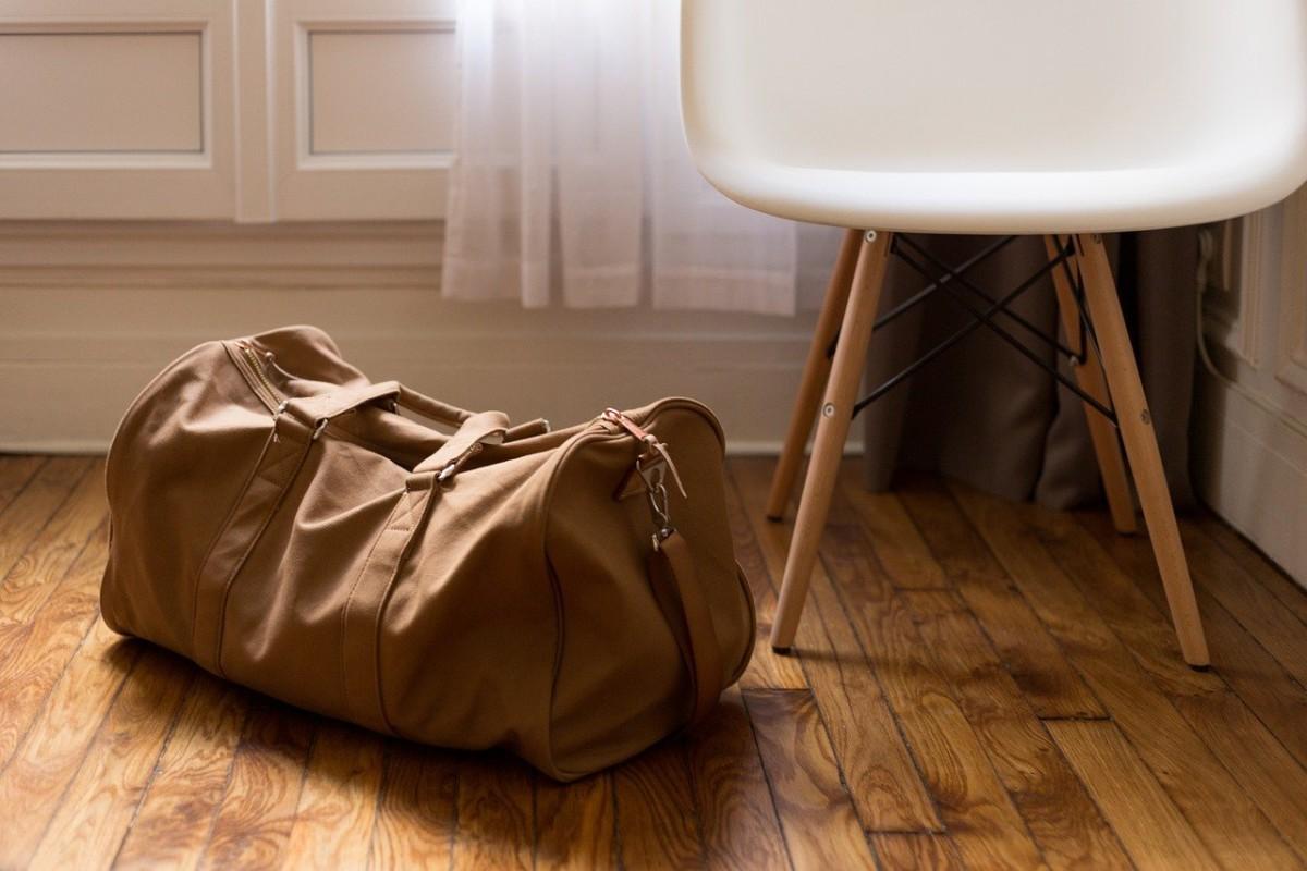 かばんの置き場所 オフィス